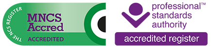 Accredited & Registered Member of the National Counselling Society